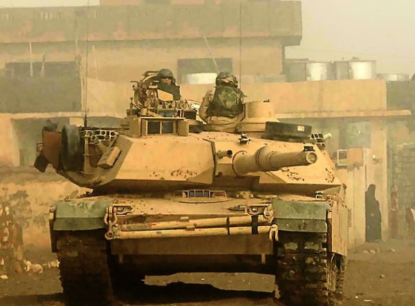 US M1 Abrams In Iraq