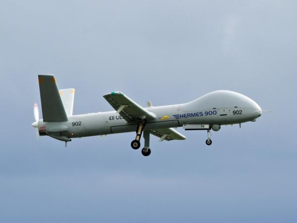 Israel Hermes 900 UAV 02