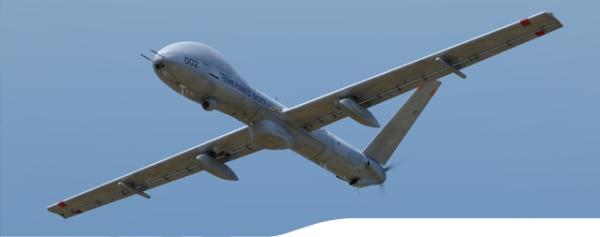 Israeli Hermes 900 UAV