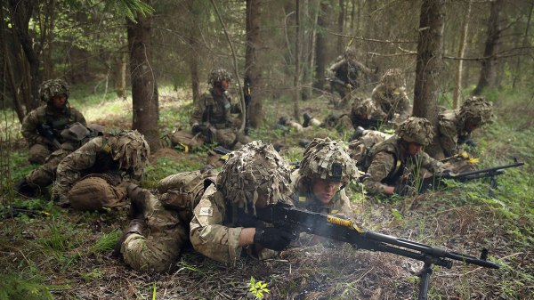 "NATO Holds ""Spring Storm"" Military Exercises"