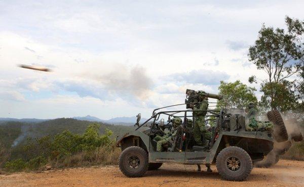 Singapore scout vehicle ATGM