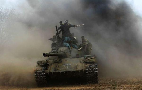 Sudan T-55 tank