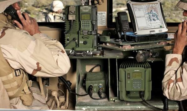 US Falcon III radio