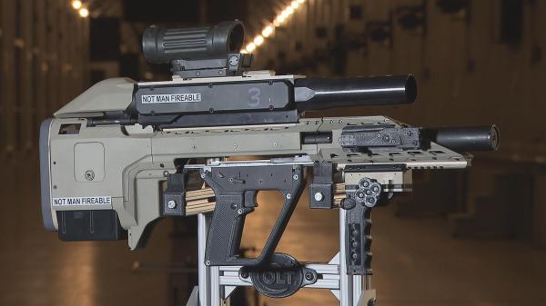 Canada Colt prototype rifle