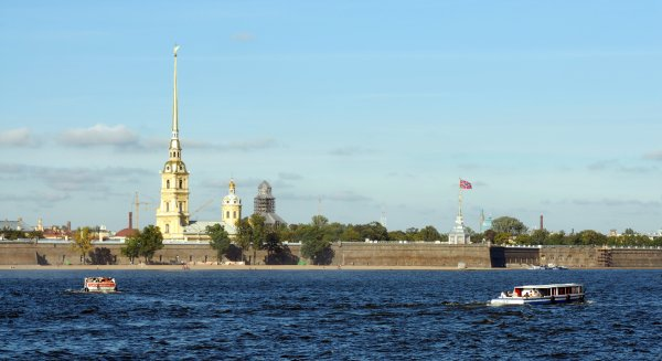 Russia St Petersburg admiralty