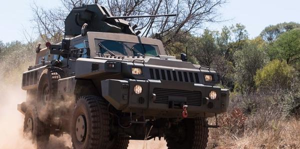 South African Marauder MRAP