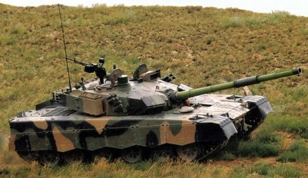 Chinese Norinco MBT 2000