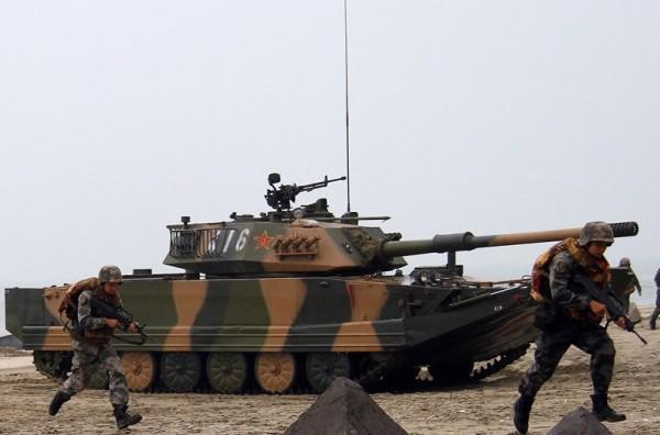 Chinese Type 63 amphibious tank 02