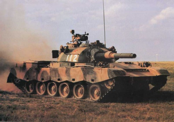 Chinese Type 80 MBT