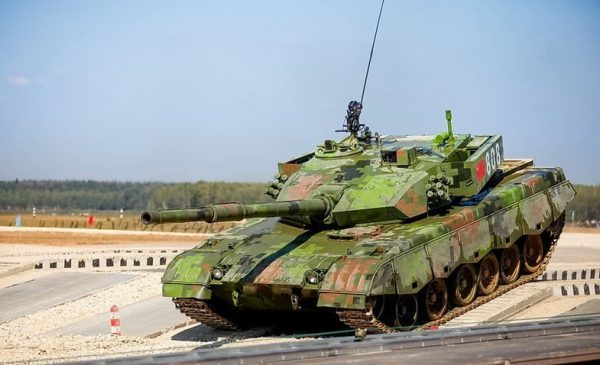Chinese Type 96 MBT
