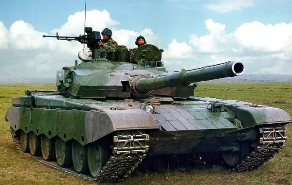 Chinese Type 99 03 MBT