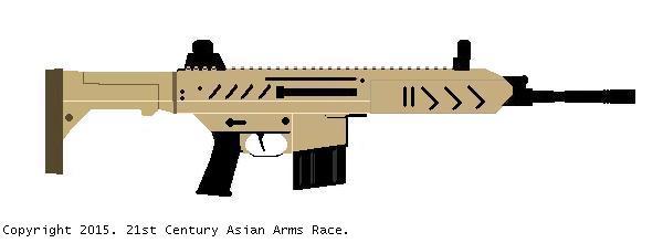 Iranian Fateh Assault Rifle 01