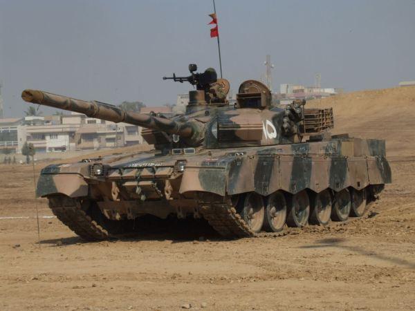 Pakistani Army MBT Al-Khalid 02