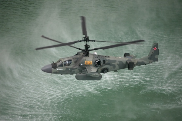 Russian Ka-52 Alligator