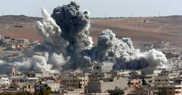 Syria large explosion