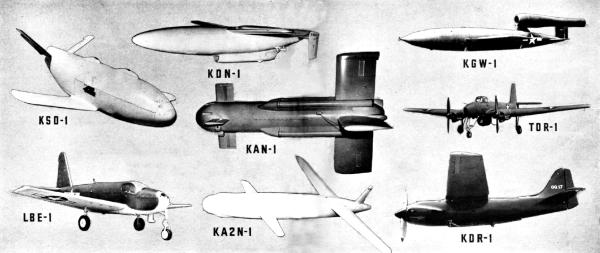 US UAVs c.1945