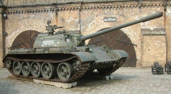 Indian T-55 tank