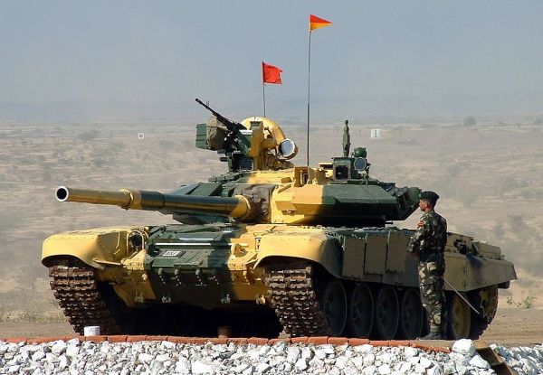 Indian T-90S