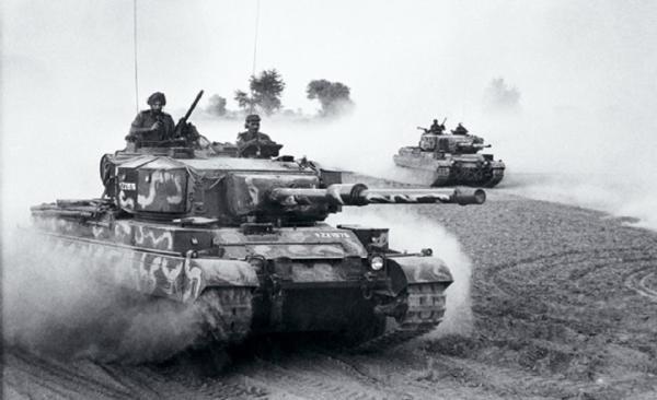 Indian Vijayanta tank
