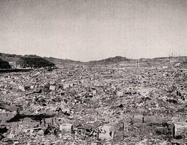 Japan Nagasaki after A-bomb