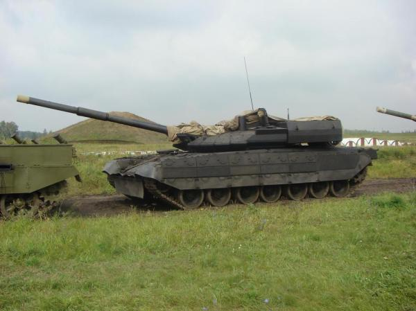 Russian T-95 Chiorny Oriol