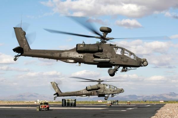 Singapore AH-64E gunship