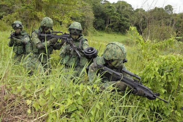 Singapore commandos
