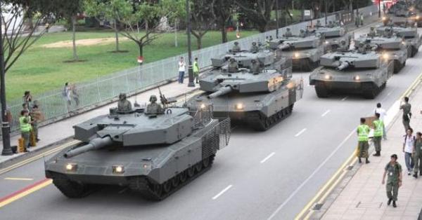 Singapore Leopard 2SG
