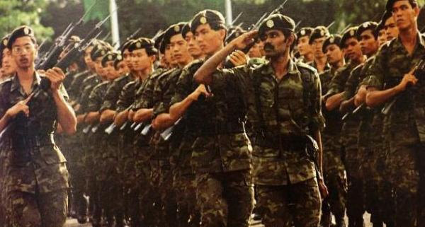 Singapore National Service march
