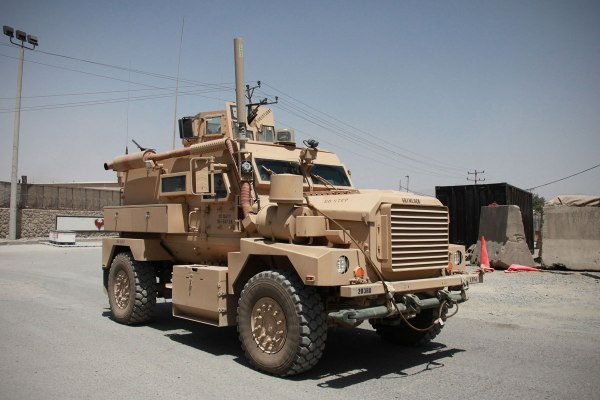 US General Dynamics Cougar MRAP 03