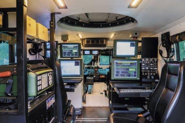 Hungarian GammaTech Komondor interior