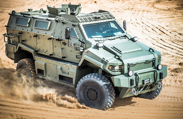 Streit Group Typhoon MRAP