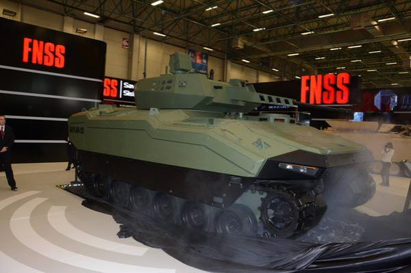 Turkish Kaplan 20 IFV (via FNSS)
