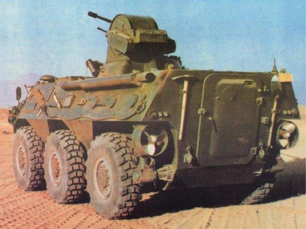 Chinese WZ-551 APC 6x6