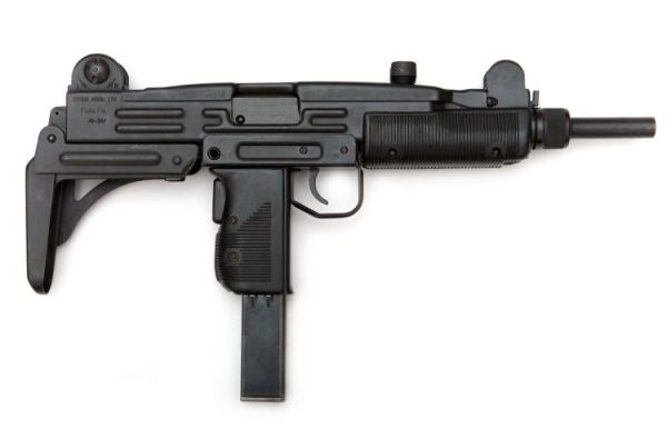 Israeli Uzi submachinegun