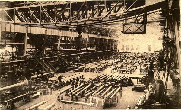 German Krupp Factory World War 1