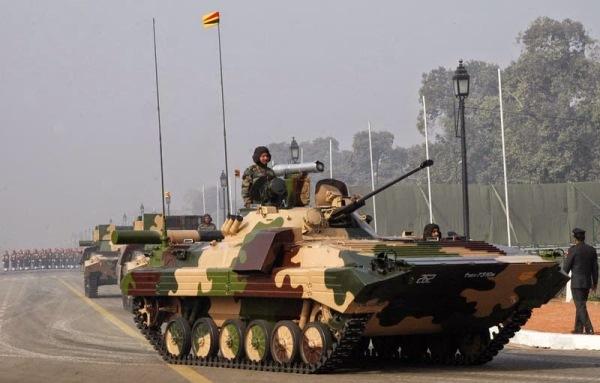 Indian BMP-2 APC