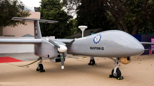 Indian Rustom 2 MALE UAV