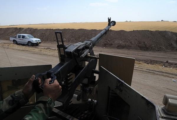 Kurdish DShK 12.7mm