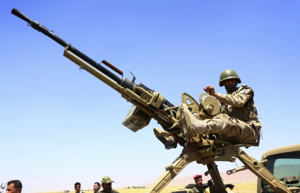 Kurdish Iraqi KPV 14.5mm