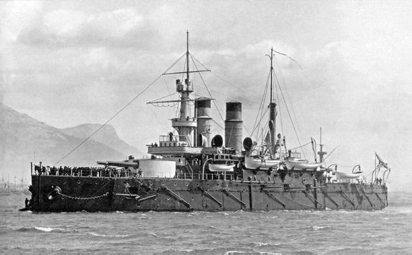 Russian Ironclad c.1897