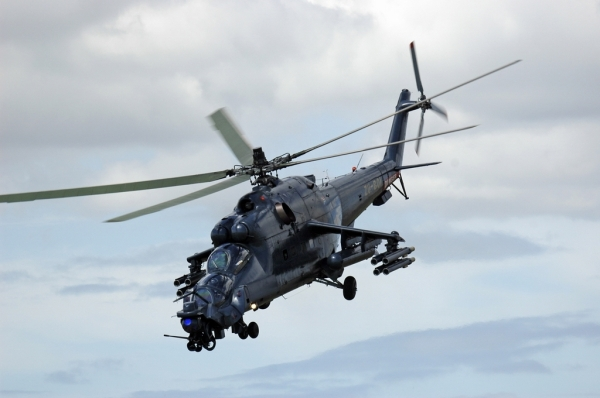 Russian Mi-24 Super Hind