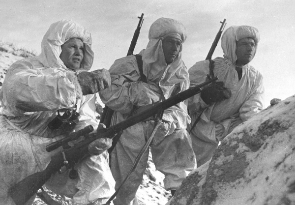 Russian Soldiers Mosin Nagant