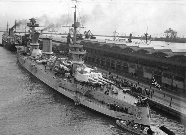 Russian Soviet Marat battleship
