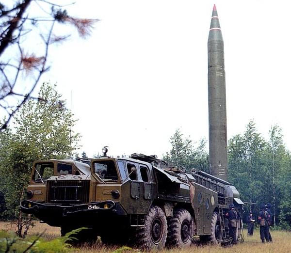 Soviet SS-1 Scud ballistic missile