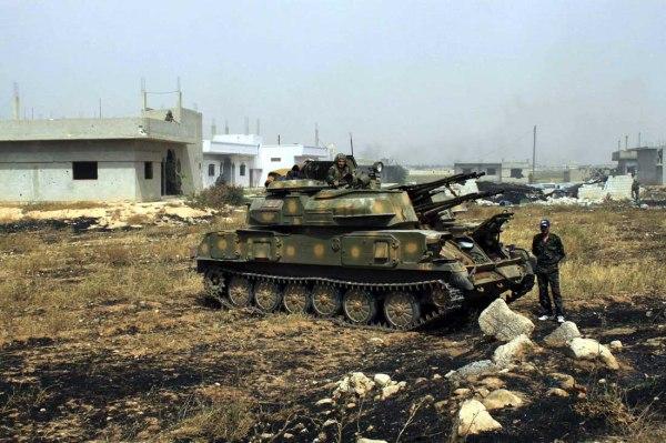 Syrian ZSU-23-4 Shilka AAA