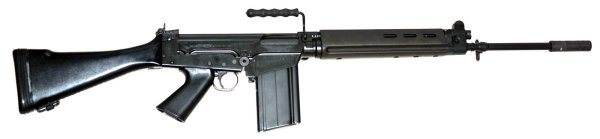 Belgian FN FAL 7.62mm rifle