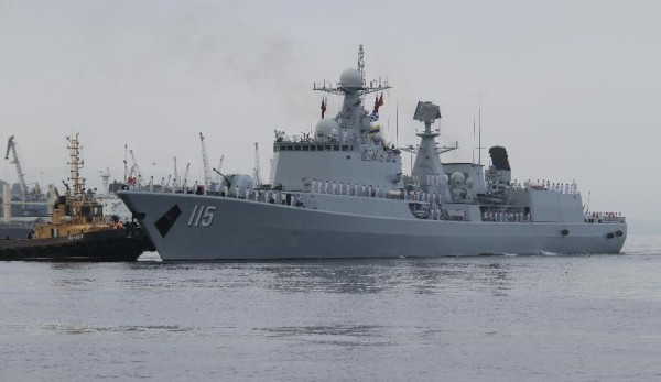 Chinese PLAN Destroyer Shenyang
