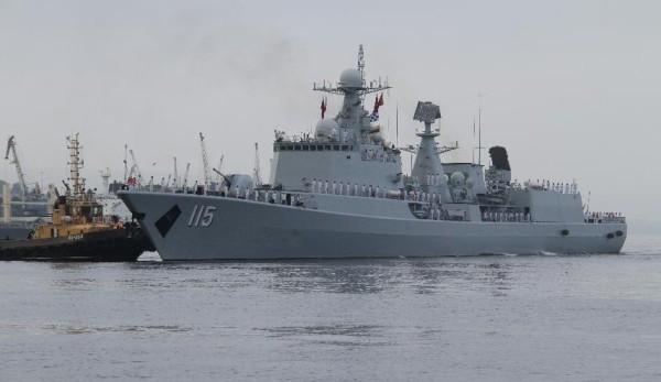 Chinese PLAN Destroyer Shenyang