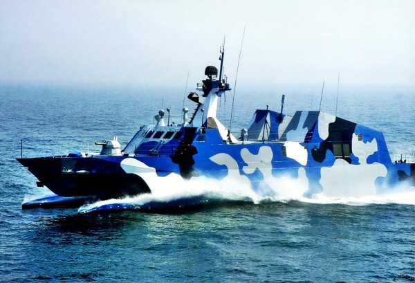 Chinese Type 022 fast attack craft